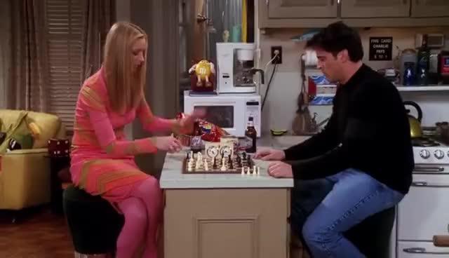 chess, Friends Chess Scene GIFs