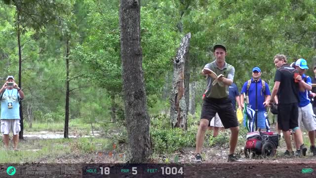 Watch 2017 PDGA Pro Worlds | Final 9 | Wysocki, Lizotte, McCray, Hammes GIF by Ultiworld Disc Golf (@ultiworlddg) on Gfycat. Discover more related GIFs on Gfycat