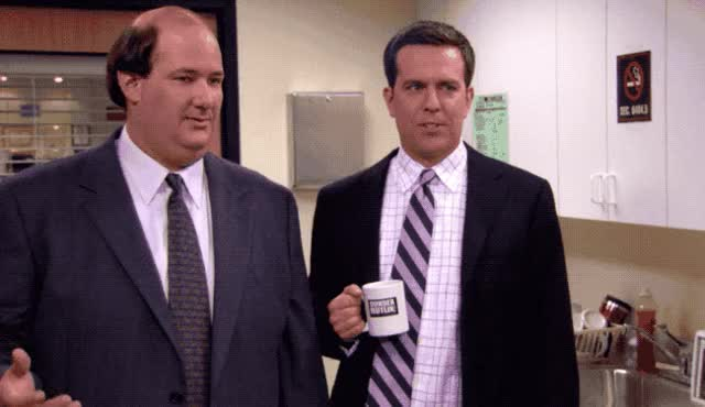 Watch and share Brian Baumgartner GIFs and Awesome Lessons GIFs by Pete Brown on Gfycat