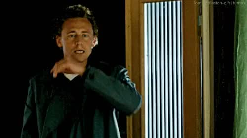 Watch and share Magnus Martinsson GIFs and Tom Hiddleston GIFs on Gfycat