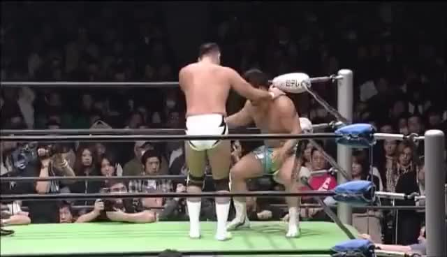 Watch and share Jun Akiyama Vs Kensuke Sasaki (01.03.2009) GIFs on Gfycat