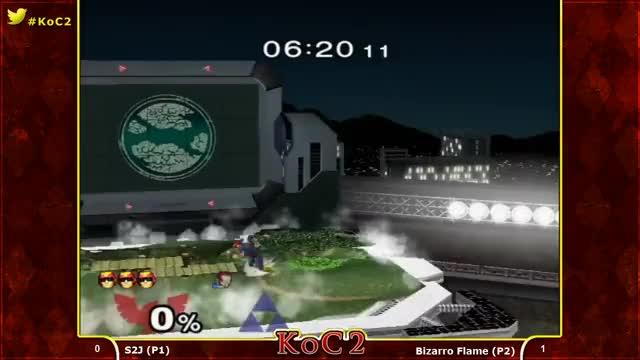 Watch KoC2 - S2J (Captain Falcon) vs. Bizzaro Flame (Ganondorf) Melee Singles Pools R2 - SSBM (reddit) GIF on Gfycat. Discover more bizzarroflamegifs GIFs on Gfycat