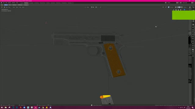 Watch and share Low Poly M1911 Functionality Animation GIFs by MuFake on Gfycat