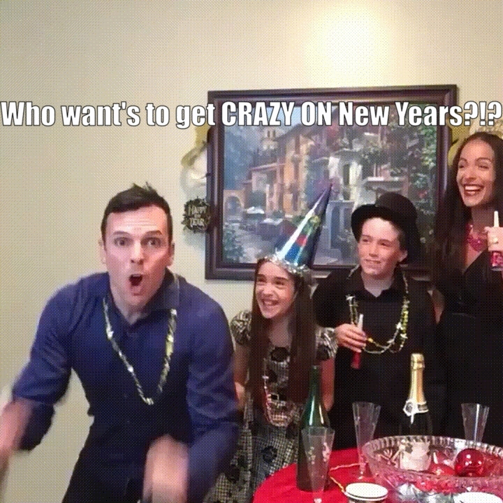 funnygifs, knockout, Who want's to get CRAZY for NEW YEARS?!? GIFs