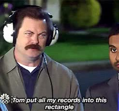 Watch and share Nick Offerman GIFs and Aziz Ansari GIFs on Gfycat