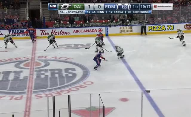 Watch and share Klefbom Lost Battle Dallas GIFs by cultofhockey on Gfycat
