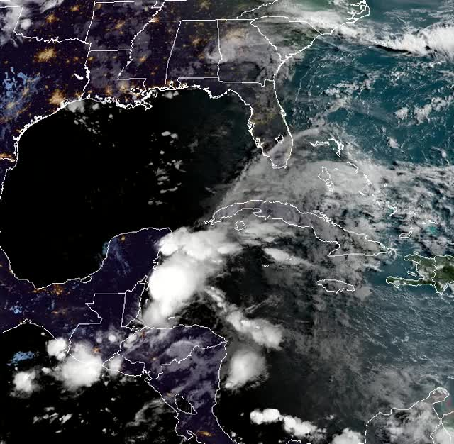 Watch and share Subtropical Or Tropical Cyclone Likely To Form By Late Saturday Over The Southeastern Gulf Of Mexico GIFs by The Watchers on Gfycat
