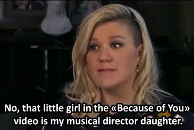 Watch and share Because Of You GIFs and Kelly Clarkson GIFs on Gfycat
