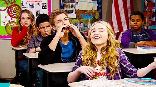 Watch and share Girl Meets World GIFs and Lucas X Maya GIFs on Gfycat