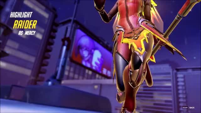 Watch and share REEEEEEEEEEEE (Aka Nano Mercy) GIFs by Raider on Gfycat