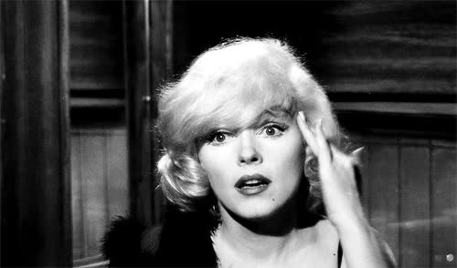 Watch some like it hot marilyn monroe gif GIF on Gfycat. Discover more related GIFs on Gfycat