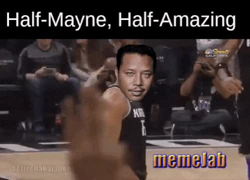 Watch and share Terrence Howard GIFs and Vince Carter GIFs by Petty Parker on Gfycat