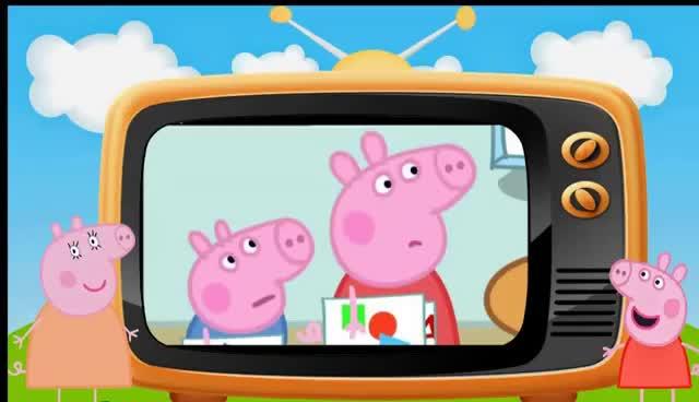 Watch and share Peppa La Cerdita La Oficina Del Cerdo Del Papá En Español GIFs on Gfycat