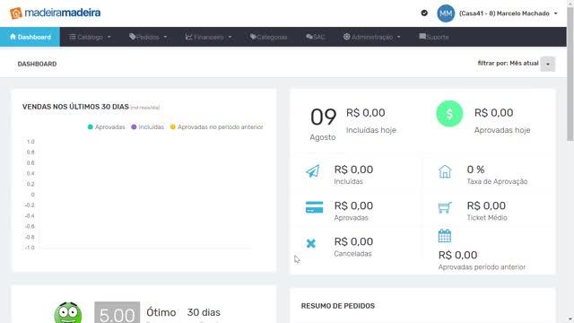 Watch and share MadeiraMadeira - Marketplace - Google Chrome 09 08 2019 17 13 19 GIFs on Gfycat