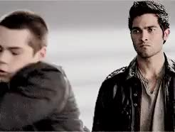 Watch and share Teen Wolf Parallels GIFs and Stiles Stilinski GIFs on Gfycat