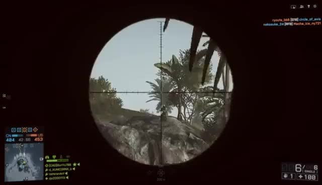 Watch and share Funny Battlefield 4 Moments - The Nija Sniper Troll! GIFs on Gfycat