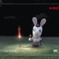 Watch and share Rayman Raving Rabbids4 GIFs on Gfycat