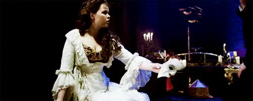 Watch and share Andrew Lloyd Webber GIFs and Christine Daae GIFs on Gfycat