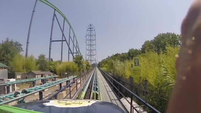 Watch and share Kingda Ka Worlds Tallest Roller Coaster Front Row 60FPS HD POV GIFs on Gfycat