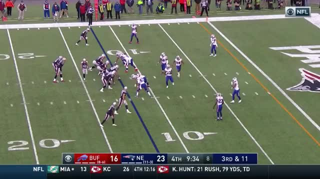 Watch and share 27 Lewis 11yd Rushing TD.mov GIFs on Gfycat