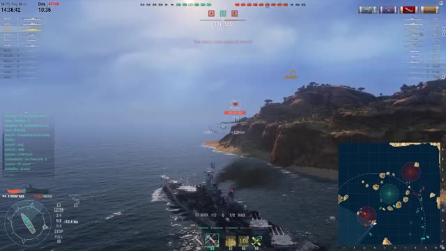 Watch and share World Of Warship GIFs and Montana GIFs by thechinaman on Gfycat