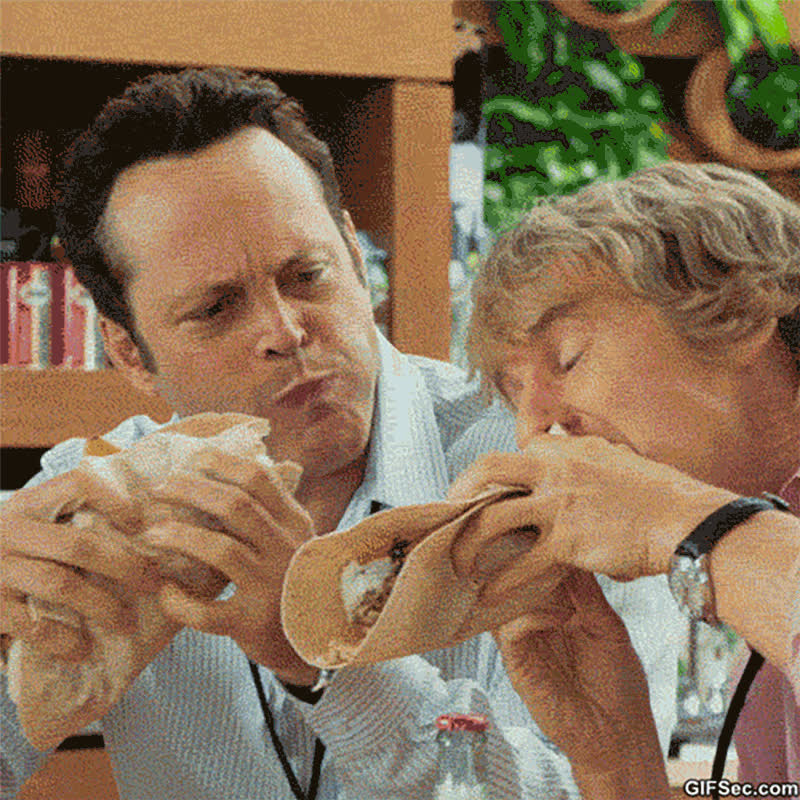 vince vaughn, #3 – When he isnot going to get Tacos He is Already Eating Tacos. GIFs