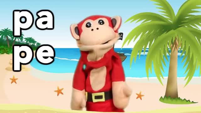 Watch Sílabas pa pe pi po pu - El Mono Sílabo - Videos Infantiles - Educación para Niños # GIF on Gfycat. Discover more PO, el, espa, estrellita, infantil, infantiles, las, metodo, ni, ol, os, pa, para, pe, pi, ranitas, silabas, silabico, spanish, syllables GIFs on Gfycat