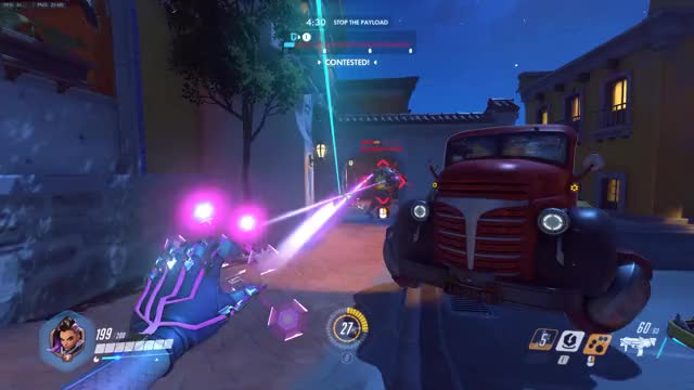 Overwatch sombra play of the game video