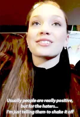 Watch and share Madison Ziegler GIFs and Maddie Ziegler GIFs on Gfycat