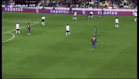 Watch and share Samuel Eto'o. Valencia - Barcelona. 2007-08 GIFs by fatalali on Gfycat
