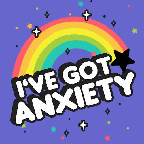 Watch and share Rainbow, Anxiety, Lookhuman, The More You Know, Look Human GIFs on Gfycat