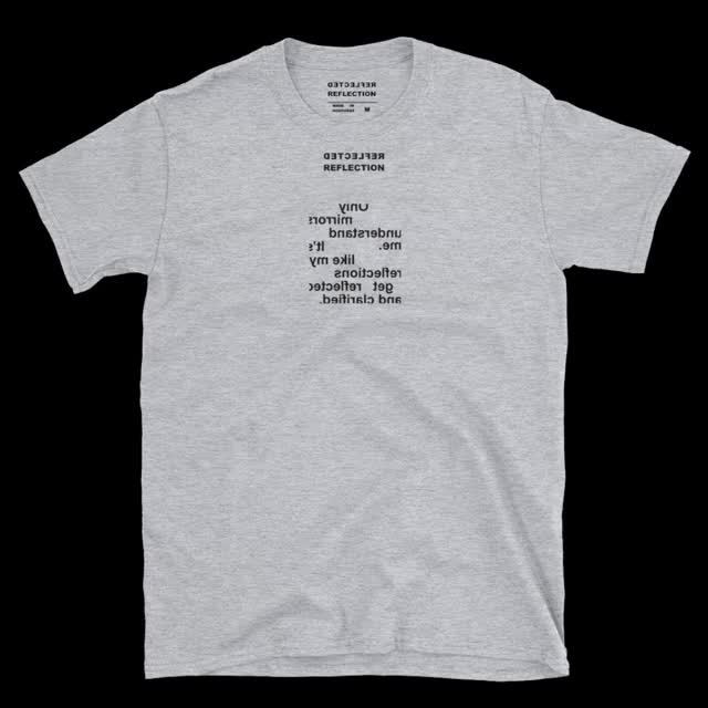 Watch and share Understand T-shirt Grey GIFs on Gfycat