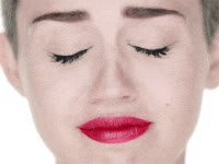 mileycyrus, miley cyrus, wrecking ball, sad, cry GIFs