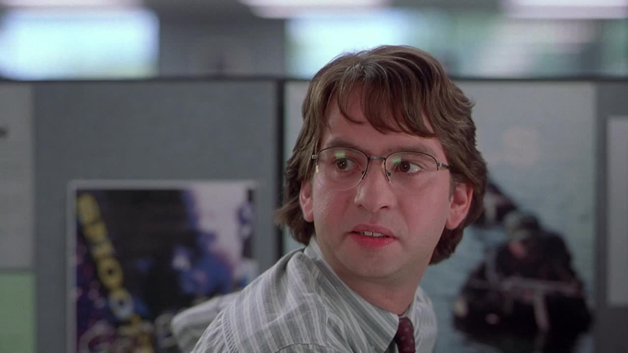 disgusted, done with you, hmmm, office space, sassy, side eye, side glance, slow turn, Office Space - side eye GIFs
