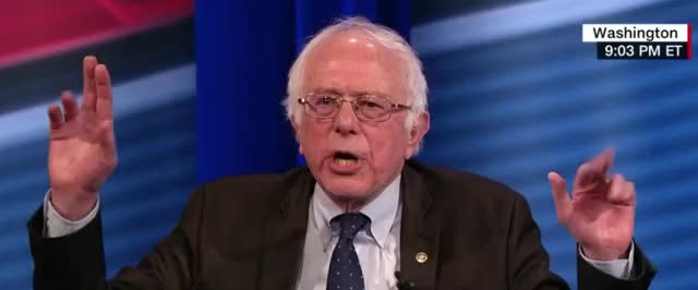 Watch and share Bernie Sanders GIFs by Richard Rabbat on Gfycat