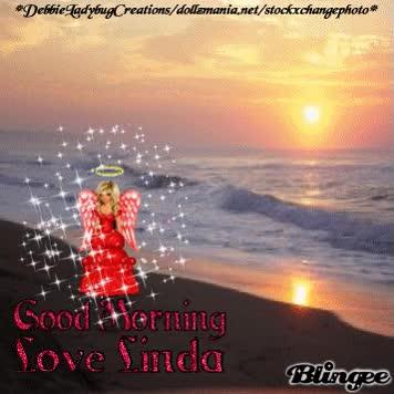 Watch and share LINDA--DEBBIELADYBUGCREATIONS--GOOD MORNING LOVE LINDA--1 GIFs on Gfycat