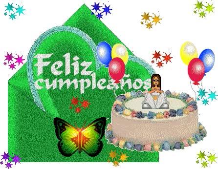 Watch and share Feliz Cumplea Os Thumb animated stickers on Gfycat