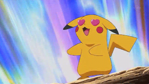 crush, hearts, i love you, in love, infatuation, love, pikachu, Pikachu Hearts GIFs