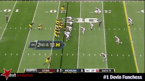 Devin Funchess Hitch route
