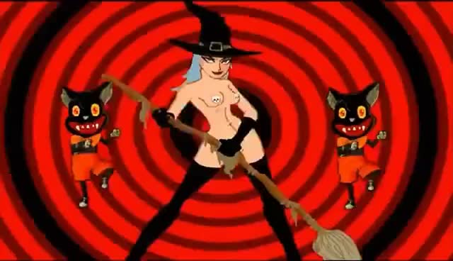Rob Zombie American Witch Animated Version Gif Find Make