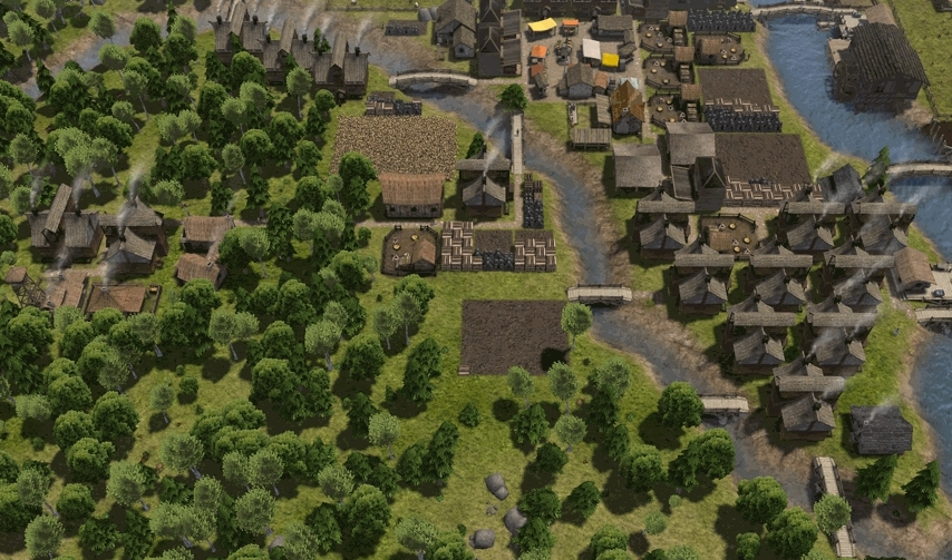 Banished, banished, A walk through my humble (WIP) town, featuring the Colonial Charter mod as well as a few others. (reddit) GIFs