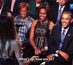 Watch and share Michelle Obama GIFs and Whats Up GIFs on Gfycat