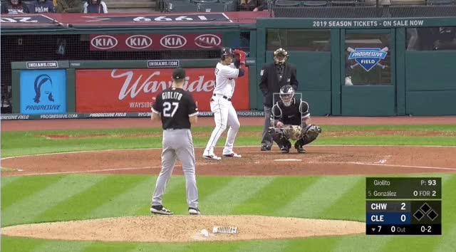 Watch and share Chicago White Sox GIFs and Cleveland Indians GIFs by devanfink on Gfycat
