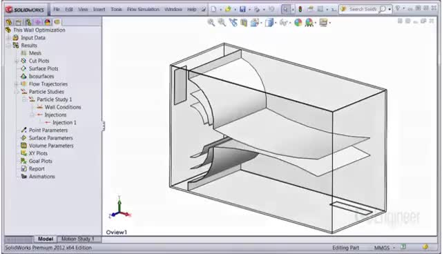 Watch and share SOLIDWORKS Flow Simulation – Particle Studies GIFs on Gfycat