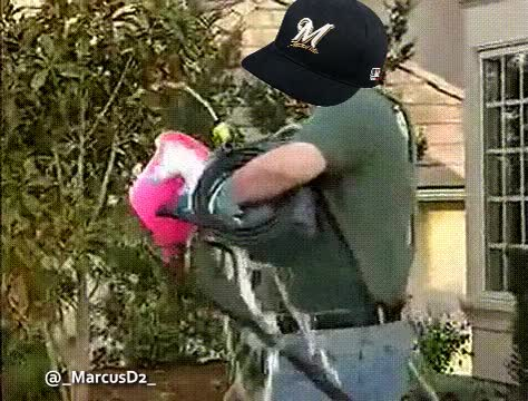 Watch Milwaukee Brewers Car Wash Fail GIF by MarcusD (@-marcusd-) on Gfycat. Discover more related GIFs on Gfycat
