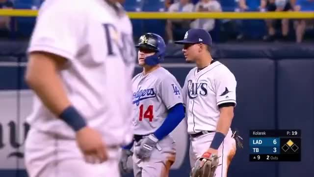 Watch and share Dodgers Highlights GIFs and Dodgers Vs Rays GIFs on Gfycat
