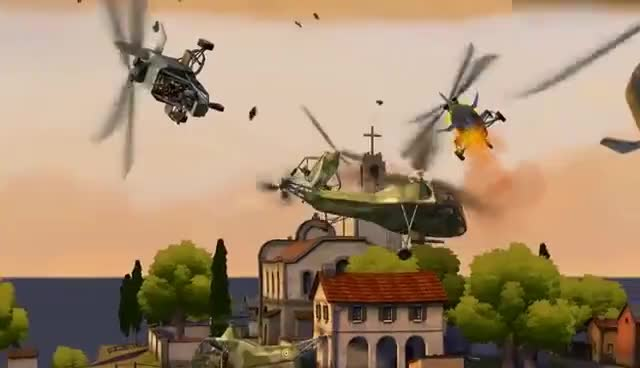 Battlefield Heroes - Helicopters have landed GIFs