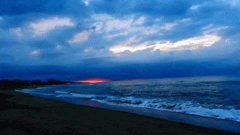 Watch and share Relax: Amanecer En La Playa, Sonido Del Mar HD 1080p [ Sleep Music ] GIFs on Gfycat