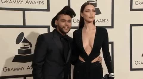 Watch this trending GIF on Gfycat. Discover more bella hadid, the weeknd GIFs on Gfycat