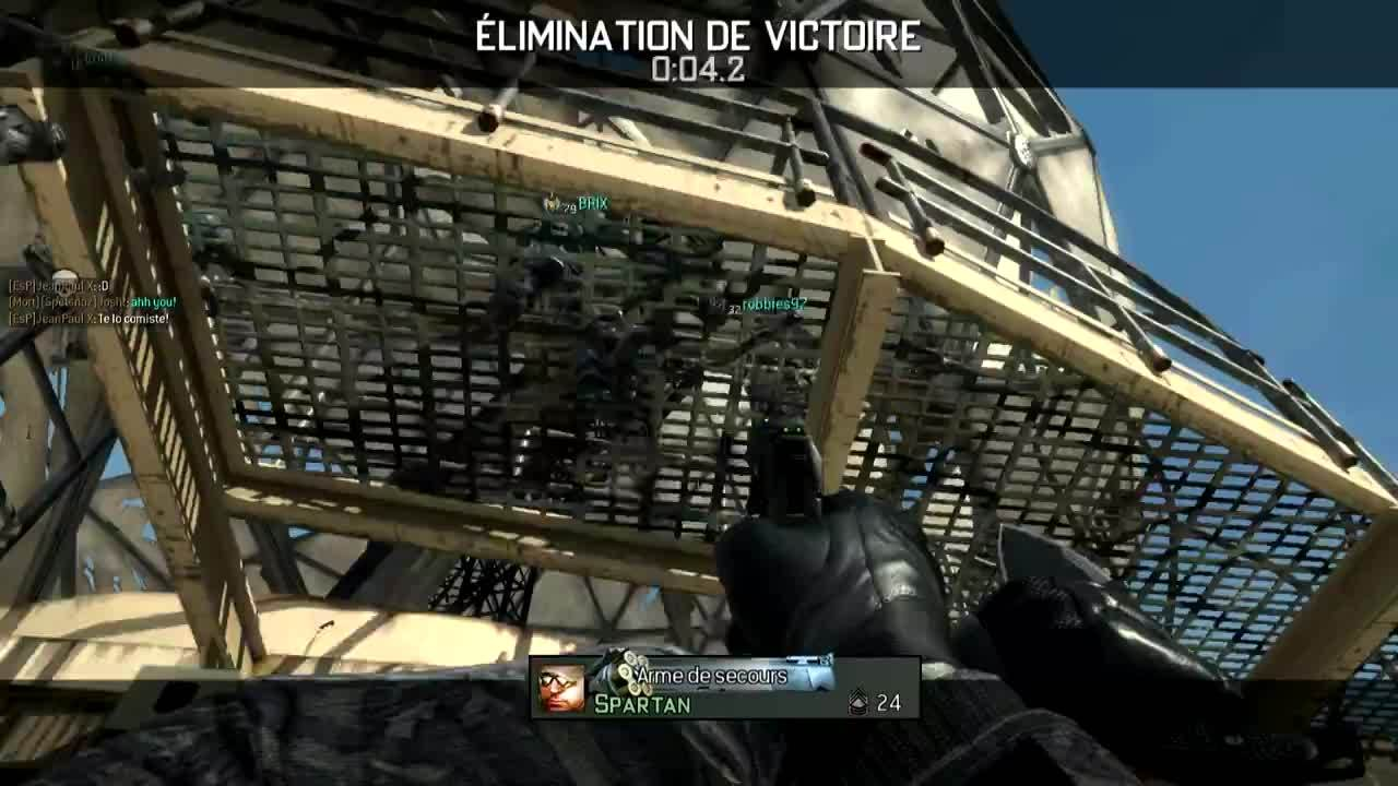 Video Game (Industry), gaming, [MW3] Killcam finale couteau GIFs